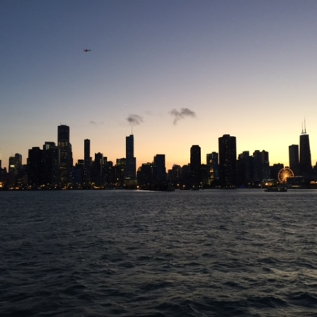 City View from the Water – Dinner on a Private Chartered Cruise