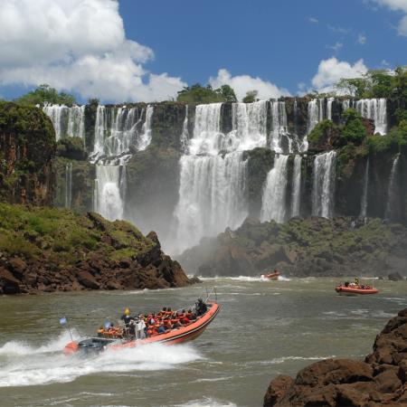 Great adventure experience in magnificent Iguazu Falls