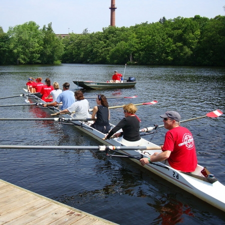 Get out on the Charles River for a collegiate rowing regatta.