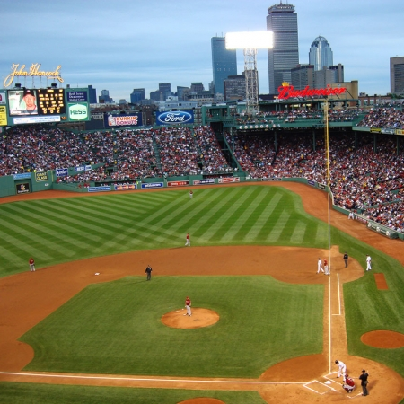 Visit Fenway Park, Americas' oldest working ballpark.