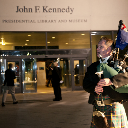 A truly presidential evening at The John F. Kennedy Library