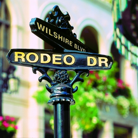 A true LA experience must include shopping on the famous Rodeo Drive.