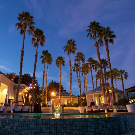 Tour or host an event at one of the many celebrity estates in the desert.