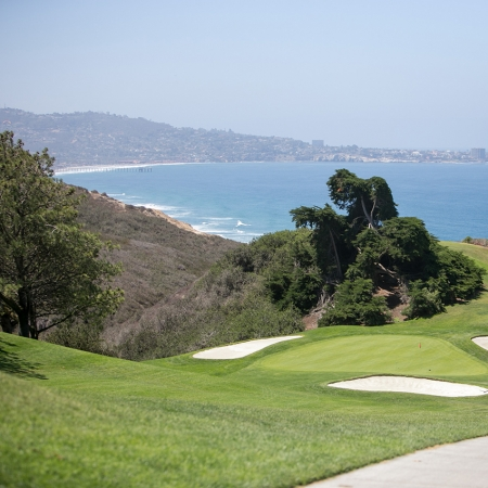 The famous Torrey Pines Golf Course is on every golfer's bucket list.