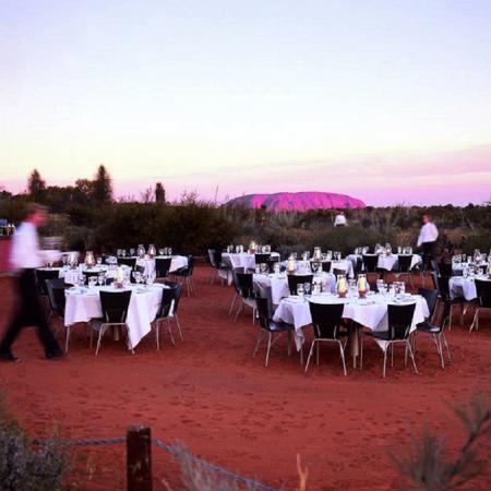 Ayers Rock – Uluru – Sounds of Silence Dinner.