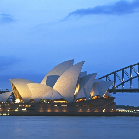 Event dinner at the Sydney Opera House.