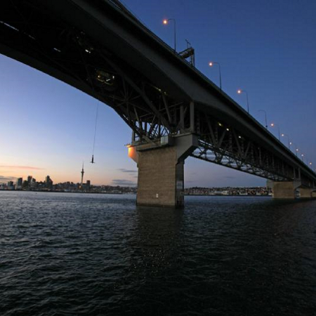 Auckland Bridge Bungy – is a unique, interactive and unforgettable experience on the iconic Auckland Harbour Bridge.