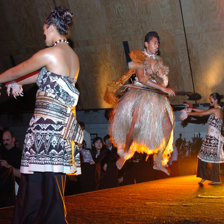 Special Polynesian Event Dinner - A Welcome or Farewell evening of high energy fine food and entertainment show casing New Zealand cuisines and wines to its best.