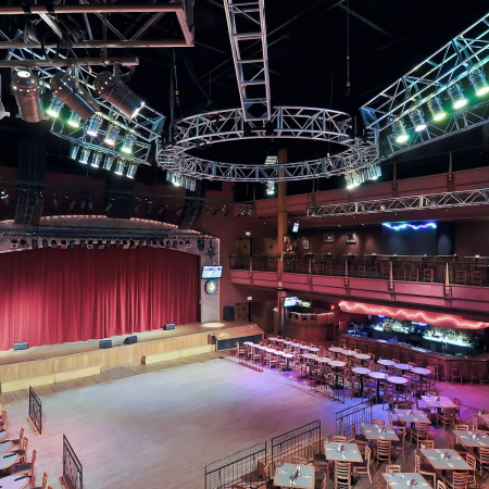 The Wildhorse Saloon is rooted deep in Country music tradition and is home to hot music and dancing.