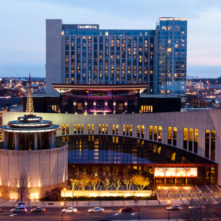 The Country Music Hall of Fame is dedicated to a single form of American music.