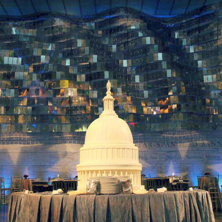 Host a private dinner at the Smithsonian National Museum of American History.