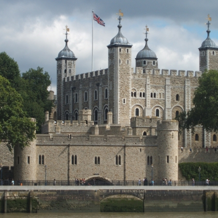 View the Crown Jewels at the Tower of London.