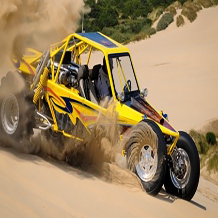 Go off-roading in the desert with ATVs and dune buggies on the outskirts of town.