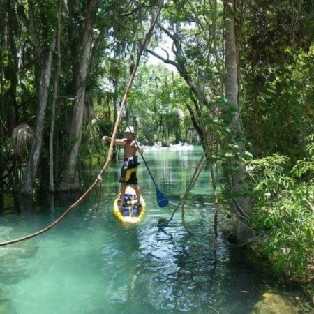 Besides the theme parks, Orlando is chock full of unique outdoor and sporting activities