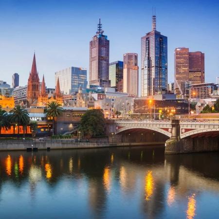 Immerse yourself in riotous street art and gourmet food scene in Australia's most liveable city, Melbourne