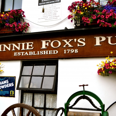 Lunch at Johnnie Fox's Pub famed as Irelands highest Pub