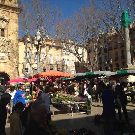Take a morning visit to Aix-en Provence markets, take your time and taste!