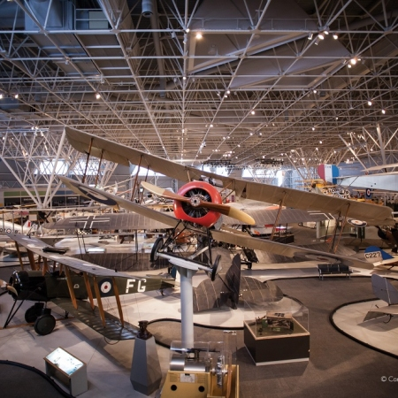 The Canadian Aviation and Space Museum presents the complete story of Canada's rich aviation and aerospace heritage.