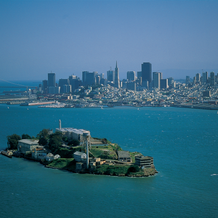 Take an eerie night tour of the infamous former prison, Alcatraz Island.