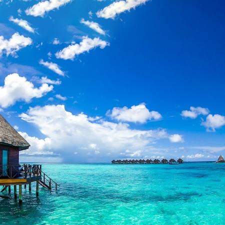 Stay in a luxury Water Villa