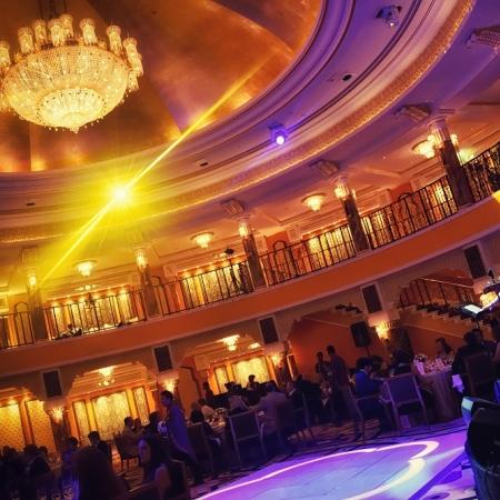Host a gala dinner at the 7-star Burj Al Arab ballroom.