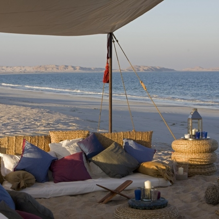 Treat your guests to a private event in one of Oman's deserted beaches along the never-ending coastline.