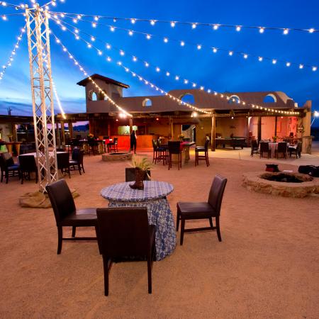Cowboy cookout beneath a blanket of desert stars